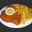 Schnitzel pommes1