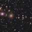 Galaxies of the perseus cluster hubble