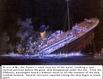 Titanic untergang im dunkeln