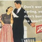Bierwerbung