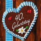 Herz 40 geburtstag