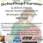 Flyer schafkopfturnier 2019 30.03