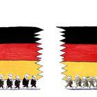 Deutschland flagge karikatur 1995 02 0381