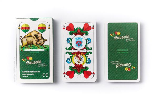 Schafkopfkarten von Sauspiel.de