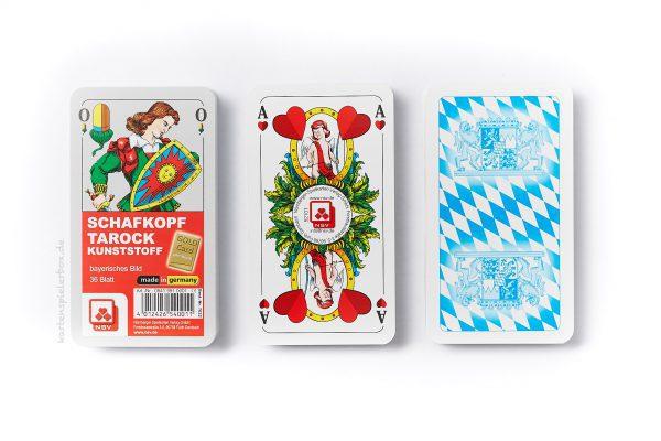 Kunststoff-Schafkopfkarten